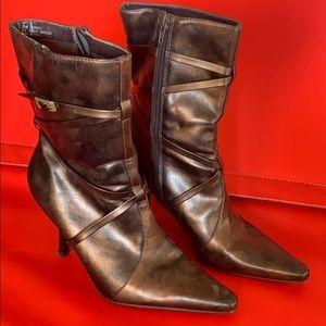 Metallic Boots size 7